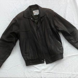 London Fog Vintage Soft Leather Jacket